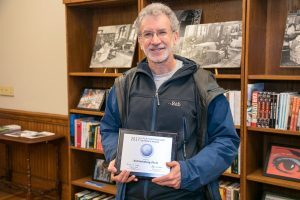 Ted Steinberg receives Faculty Distinguished Research Award