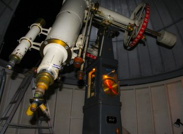 "Warner and Swasey 9.5"" refractor"
