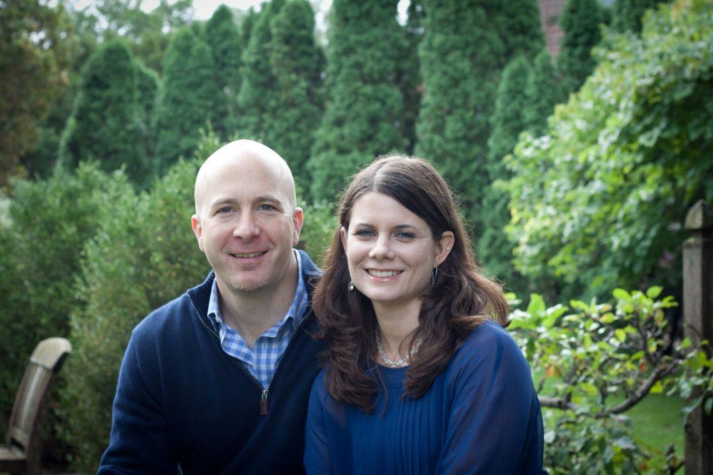 Christina Welter (CWR '98) and David Muzic (CSE '97)