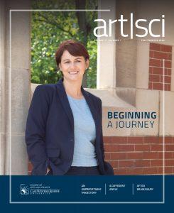 art/sci magazine cover