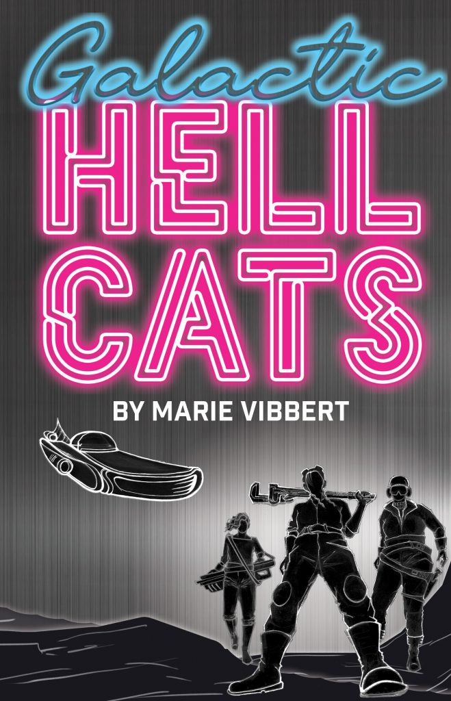 Galactic Hellcats book cover