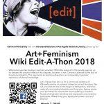 Art+Feminism Wiki Edit-A-Thon 2018
