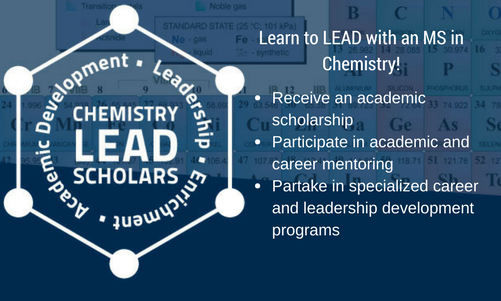 Chemistry LEAD Scholars - Click button to go to Chemistry LEAD Scholars page