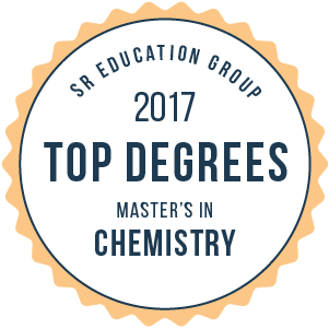 SR Education Group 2017 top Degrees Master's in Chemistry badge