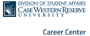 Division of Student Affairs, Case Western Reserve University Career Center Logo - Click to go to Career Center website