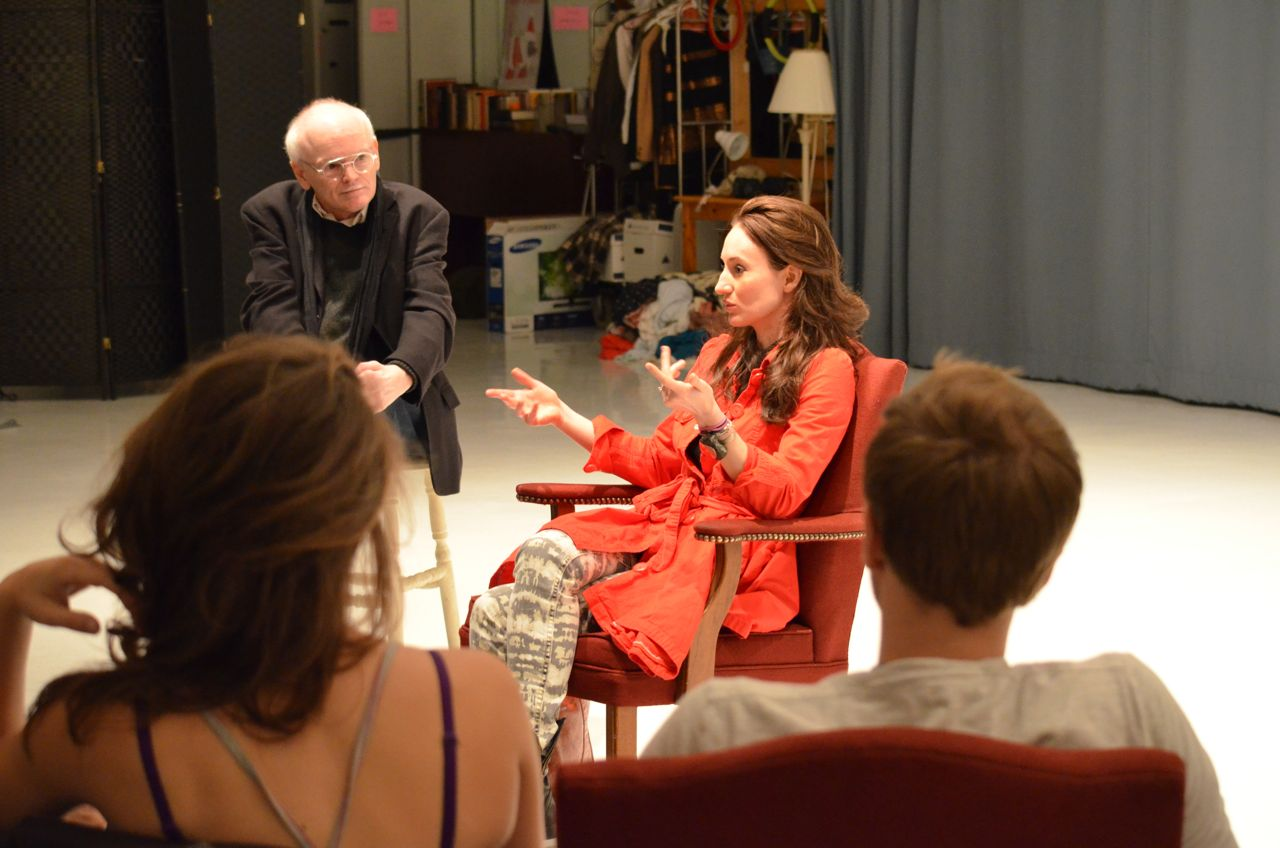"Program graduate Elizabeth talk with Ron Wilson and current students about performing in ""Once"" and life in New York."
