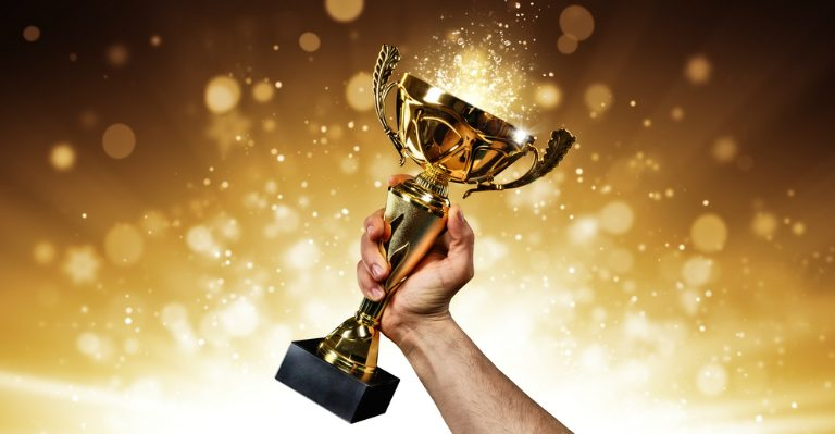 An Award Trophy