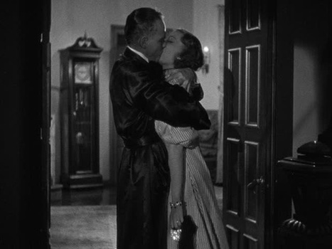 werewolf-of-london-frame-2: Glendon and his wife, Lisa, share an awkward and stiff embrace