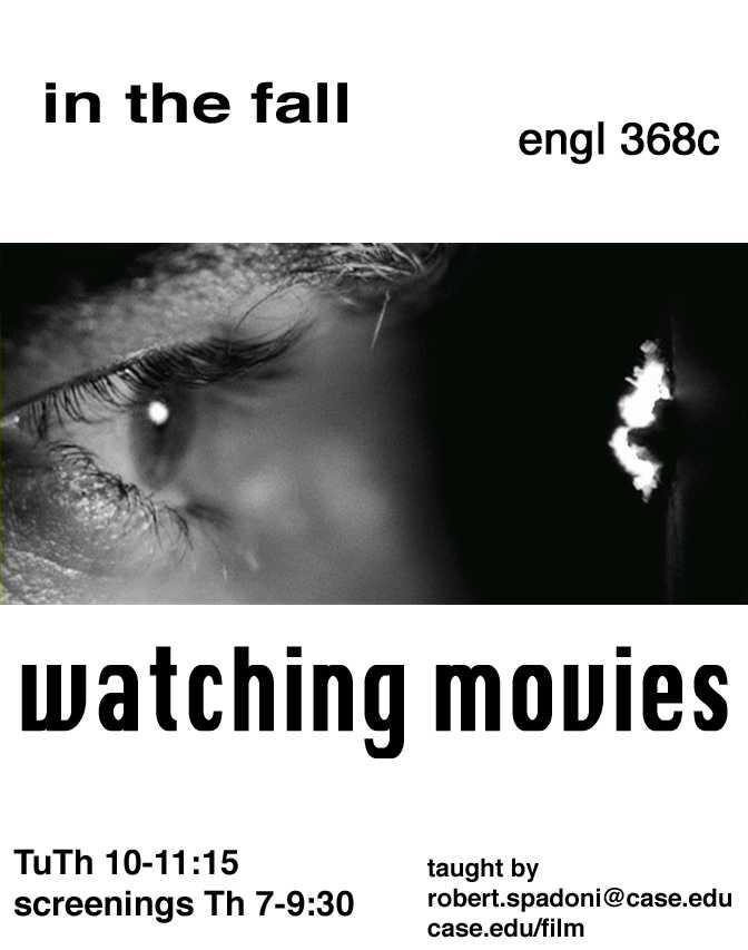 Watching Movies flier