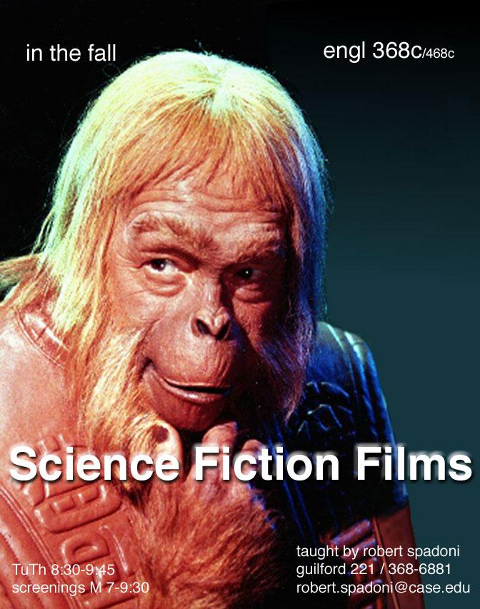 Science Fiction Films flier