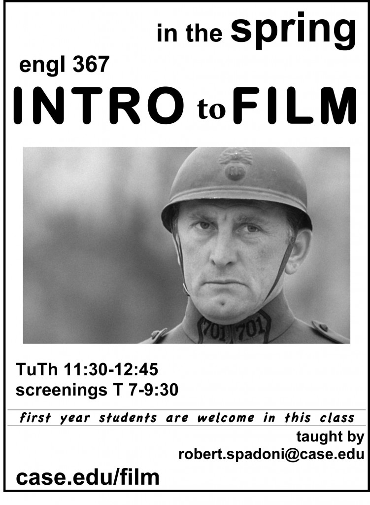 Intro to Film flier